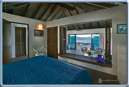 Spacious Superior Suite bedroom,